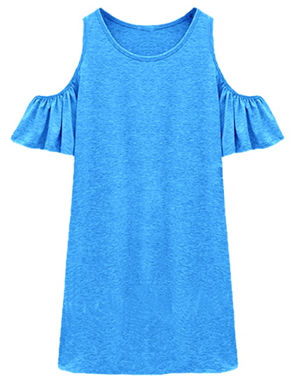 Женское платье фасон 4